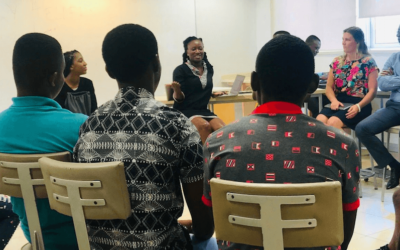 Ashesi mentoring partnership with Palm Institute