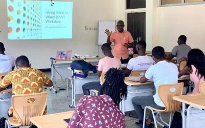Emerging Public Leaders organizes its first Giving Voice to Values (GVV) Workshop